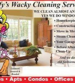 Daffy's Wacky Cleaning Service